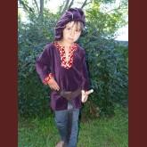 Exklusiv pojk sammetstunika för adel