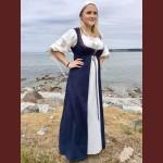 Brokadkantad tvådelad klänningg