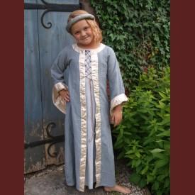 Barnklänning med snörning